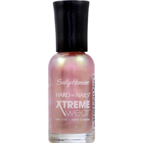 Sally Hansen Hard as Nails Xtreme Wear On Cloud Shine Nail Color Perspective: front