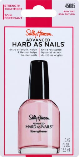Sally Hansen® Advanced Hard As Nails® 45085 Rosy Tint Nail Strengthener Perspective: front