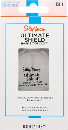 Sally Hansen Ultimate Shield Base and Top Coat Perspective: front