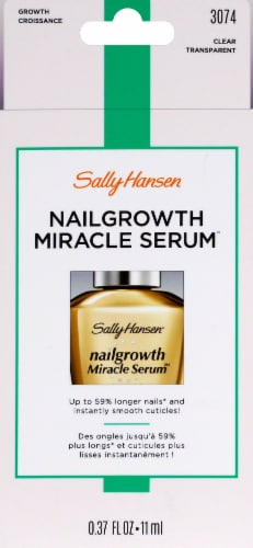 Sally Hansen® Nail Growth Miracle Serum® 3074 Clear Nail Treatment Perspective: front