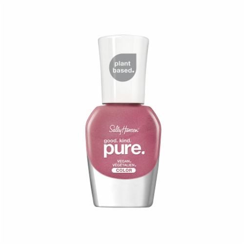 Sally Hansen Good Kind Pure Pink Sapphire Vegan Nail Color Perspective: front