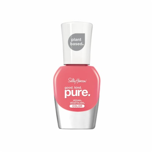 Sally Hansen Good Kind Pure Coral Calm Vegan Nail Color Perspective: front