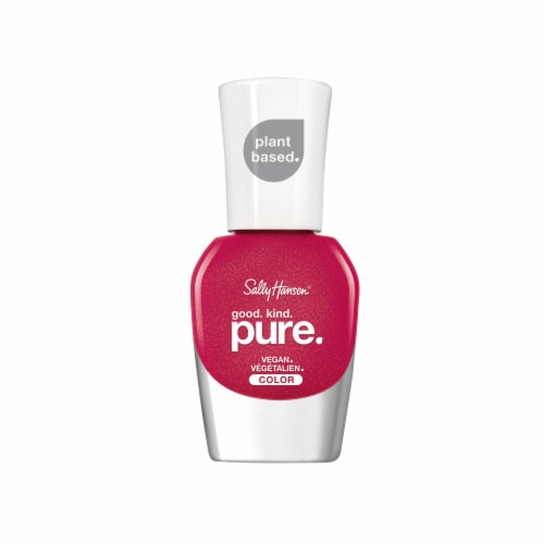 Sally Hansen Good Pure Kind Sweet Berries Vegan Nail Color Perspective: front