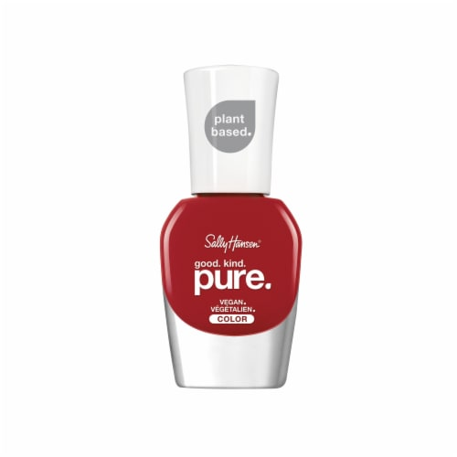 Sally Hansen Good Kind Pure Pomegranate Punch Vegan Nail Color Perspective: front