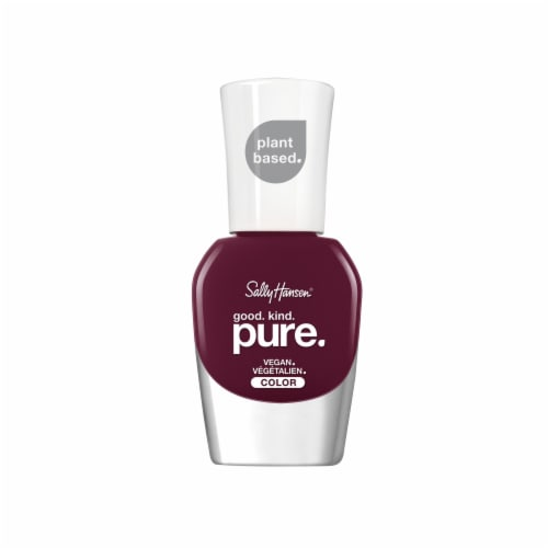 Sally Hansen Good Kind Pure Beet It Vegan Nail Color Perspective: front