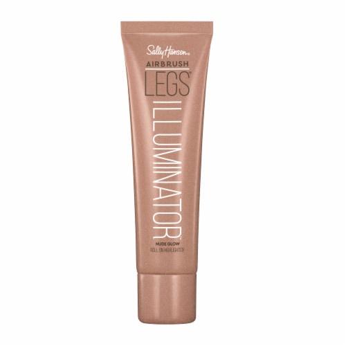 Sally Hansen Airbrush Legs Illuminator Nude Glow Roll On Highlighter Perspective: front