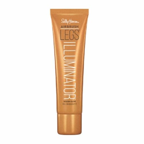 Sally Hansen Airbrush Legs Illuminator Roll On Highlighter - Golden Glow Perspective: front