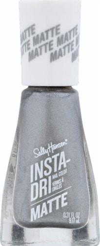 Sally Hansen Insta-Dri 011 Smokey Silver Nail Polish Perspective: front