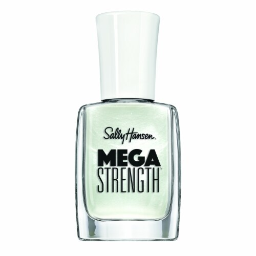 Sally Hansen Mega Strength 006 Stay Classy Nail Color Perspective: front