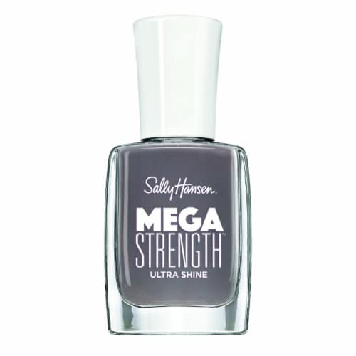 Sally Hansen Mega Strength Ultra Shine 060 Here to Stay Nail Color Perspective: front