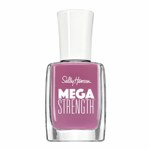 Sally Hansen Mega Strength 053 Queen Trident Nail Polish Perspective: front