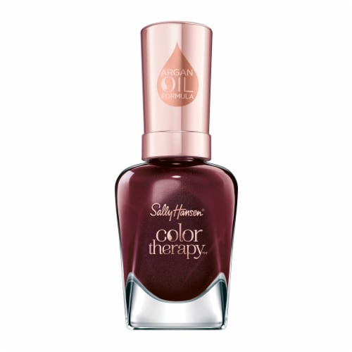 Sally Hansen Color Therapy 202 Wine Not Nail Color Perspective: front