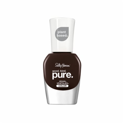 Sally Hansen Good Kind Pure 151 Warm Cacao Nail Color Perspective: front