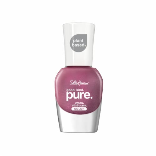 Sally Hansen Good Kind Pure 331 Frosted Amethyst Nail Color Perspective: front