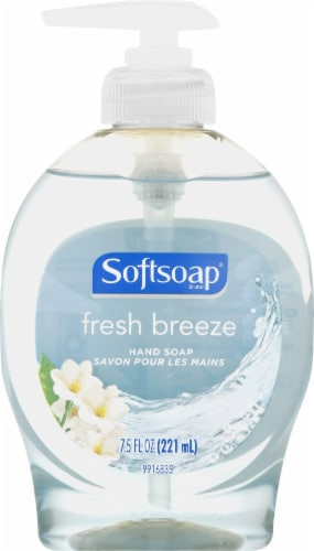 Softsoap Fresh Breeze Liquid Hand Soap Perspective: front
