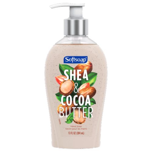 Softsoap Shea & Cocoa Butter Liquid Hand Soap Perspective: front