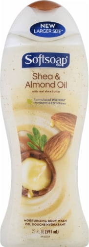 Softsoap Shea & Almond Oil Moisturizing Body Wash Perspective: front