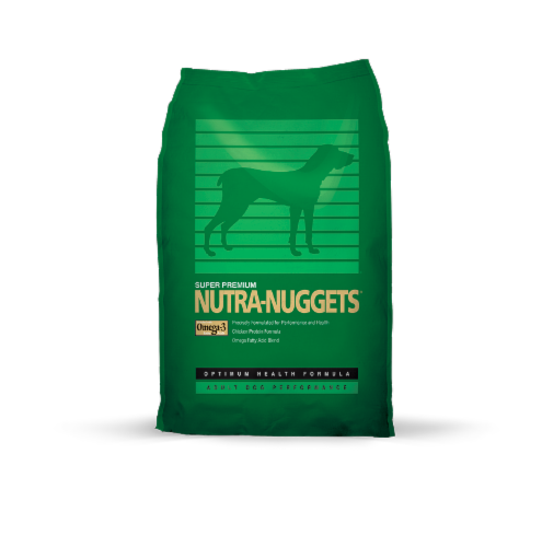 Nutra-Nuggets Performance Formula Dog Food Perspective: front