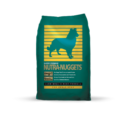 Nutra-Nuggets Lamb Meal & Rice Dog Foods Perspective: front