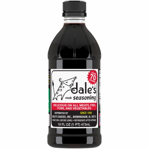 Dale's Steak Seasoning Perspective: front