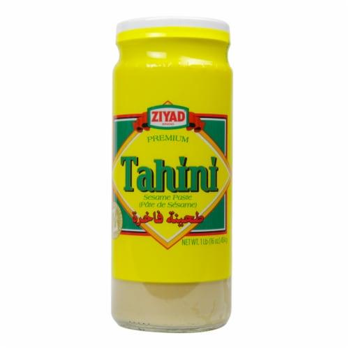 Ziyad Tahini Sesame Paste Perspective: front