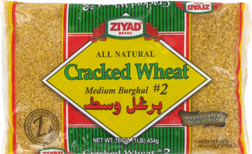 Ziyad Burghol Cracked Wheat Perspective: front
