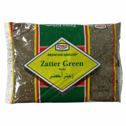 Ziyad Green Za'atar Roasted Thyme Perspective: front