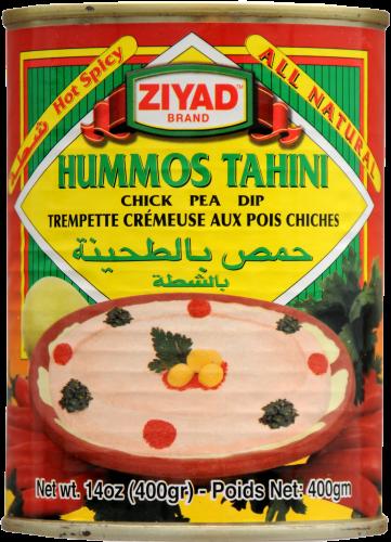 Ziyad Spicy Hummos Tahini Perspective: front
