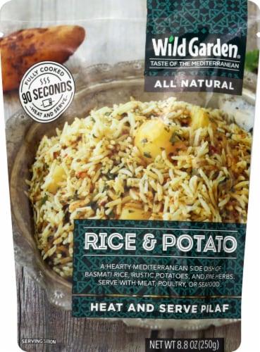 Wild Garden Rice & Potato Pilaf Perspective: front