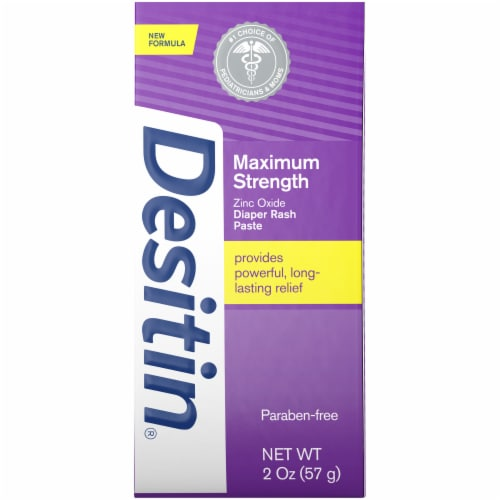 Desitin Maximum Strength Diaper Rash Ointment with Zinc Oxide Perspective: front
