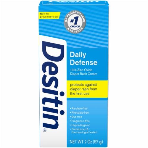 Desitin Rapid Relief Zinc Oxide Diaper Rash Cream Perspective: front