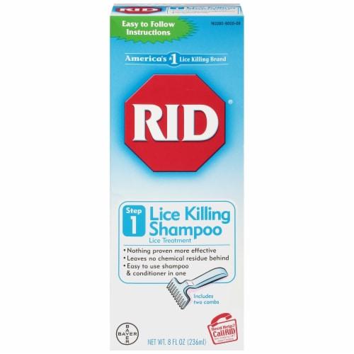 RID Lice Killing Shampoo Perspective: front