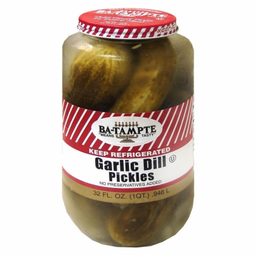 Bamampte Garlic Dill Pickles Perspective: front
