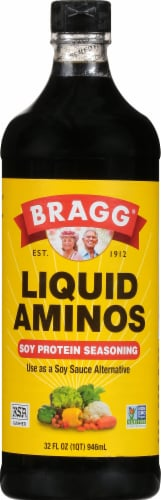 Bragg Seasoning Liquid Aminos Perspective: front