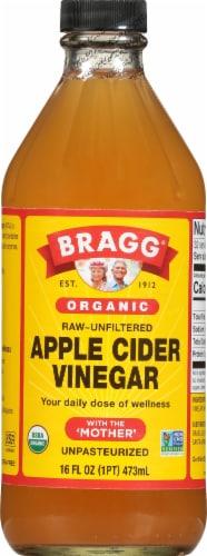 Bragg Organic Apple Cider Vinegar Perspective: front