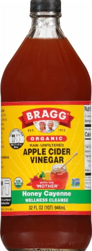 Bragg Apple Cider Vinegar Concentrate Miracle Cleanse Perspective: front