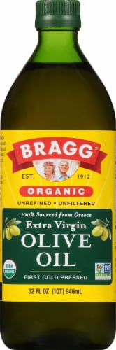 Bragg Extra Virgin Olive Oil Perspective: front