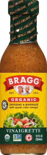Bragg Healthy Organic Vinaigrette Perspective: front