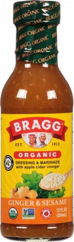 Bragg All Natural Ginger & Sesame Salad Dressing Perspective: front