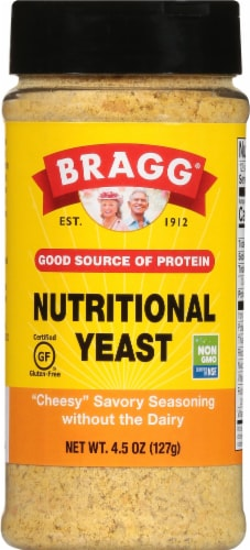 Bragg Nutritional Yeast Seasoning Perspective: front