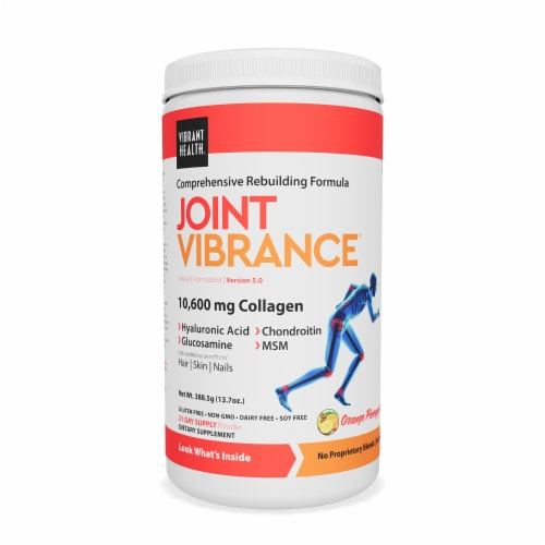 Vibrant Health Joint Vibrance Orange Pineapple Perspective: front