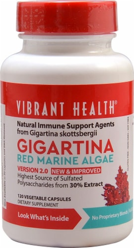 Vibrant Health  Gigartina Red Marine Algae Perspective: front