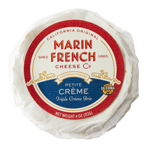 Marin French Petite Creme Brie Perspective: front