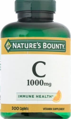 Nature's Bounty® Immune Health Vitamin C Supplement Caplets Perspective: front