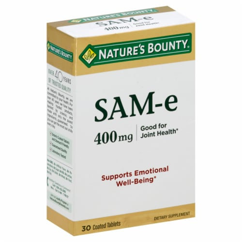 Nature's Bounty SAM-e 400mg Tablets Perspective: front