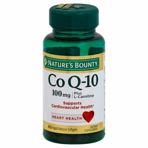Nature's Bounty Co Q-10 Softgels 100mg Perspective: front