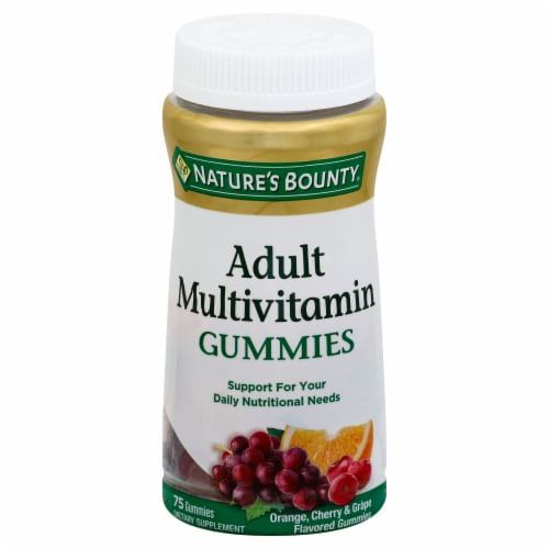 Nature's Bounty Adult Multivitamin Gummies Perspective: front