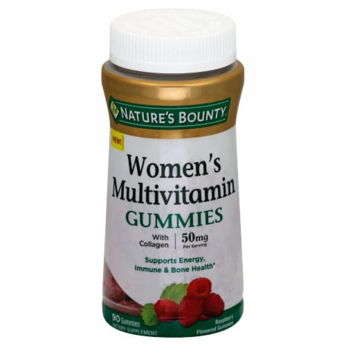 Nature's Bounty Women's Multivitamin Gummies 50 mg Perspective: front