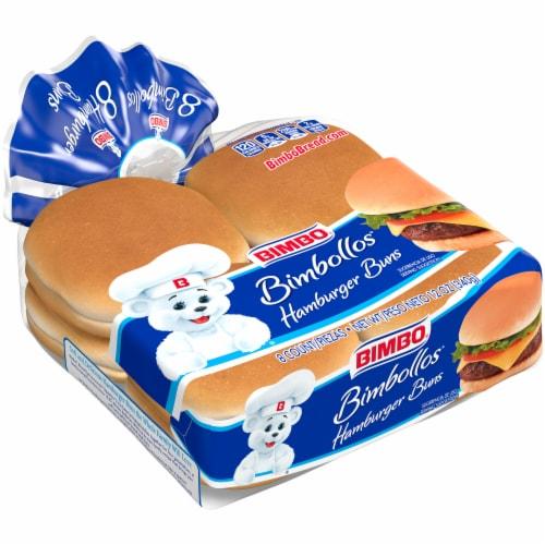 Bimbo® Bimbollos® Hamburger Buns Perspective: front