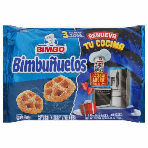 Bimbo Bimbunuelos Sweet Crispy Wheels Perspective: front